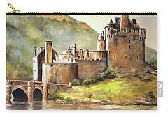 Eilean Donan Castle Carry-all Pouch by Alan Lakin