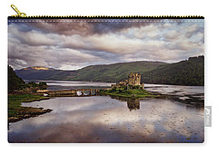 Eilean Donan Castle Carry-all Pouch by Ian Good