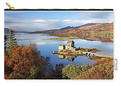 Eilean Donan In Autumn - Dornie Carry-all Pouch by Grant Glendinning