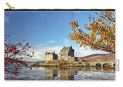 Eilean Donan In Autumn Carry-all Pouch by Grant Glendinning