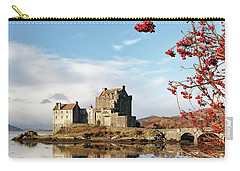 Eilean Donan - Loch Duich Reflection - Skye Carry-all Pouch by Grant Glendinning
