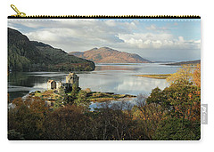 Eilean Donan Panorama - Autumn Carry-all Pouch by Grant Glendinning