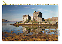 Eilean Donan Scotland Carry-all Pouch by Grant Glendinning