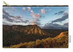 El Cajon Mountain Last Light Carry-all Pouch