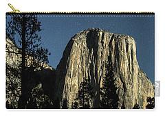 El Capitan By Starlight, Yosemite Valley, Yosemite Np, Ca Carry-all Pouch