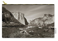 El Capitan Carry-all Pouch by Joseph G Holland