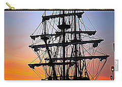 El Galeon At Sunrise Carry-all Pouch