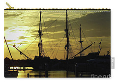 El Galeon Sunrise Carry-all Pouch by D Hackett