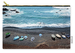 Carry-all Pouch featuring the photograph El Golfo by Delphimages Photo Creations