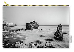 Carry-all Pouch featuring the photograph El Matador State Beach by Margaret Pitcher
