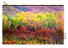 Carry-all Pouch featuring the photograph El Valle June Hay Days Nostalgia II by Anastasia Savage Ealy