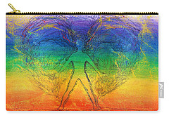 Electric Angel Carry-all Pouch by Denise Fulmer