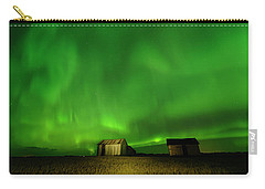 Electric Green Skies Carry-all Pouch
