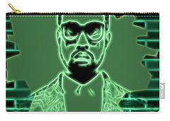 Electric Kanye West Graphic Carry-all Pouch by Dan Sproul