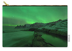 Carry-all Pouch featuring the photograph Electric Night by Alex Lapidus
