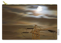Electric Tower Under Supermoon Carry-all Pouch