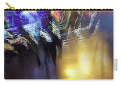 Carry-all Pouch featuring the photograph Electrical Storm by Alex Lapidus