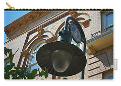 Carry-all Pouch featuring the photograph Electrifying  Architecture by Skip Willits
