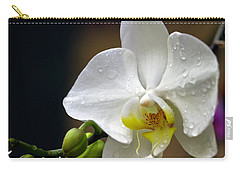Elegance In White Carry-all Pouch
