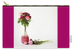 Carry-all Pouch featuring the photograph Elegance by Wendy Wilton