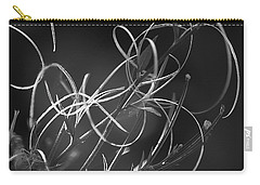 Carry-all Pouch featuring the photograph Elegance by Yulia Kazansky