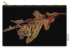 Carry-all Pouch featuring the photograph Elegant Demise by Lynda Lehmann