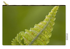 Elegant Fern. Carry-all Pouch by Clare Bambers