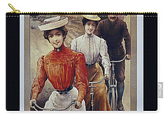 Elegant Fongers Vintage Stylish Cycle Poster Carry-all Pouch