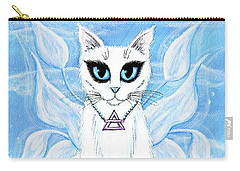 Elemental Air Fairy Cat Carry-all Pouch