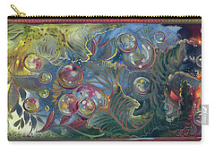 Elemental Bubbles Carry-all Pouch