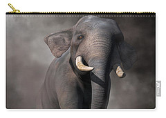Elephant Carry-all Pouch by Daniel Eskridge