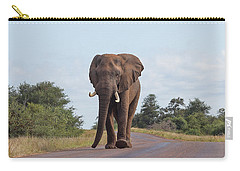 Elephant In Kruger Carry-all Pouch