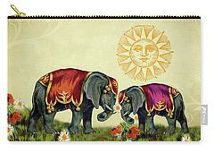 Elephant Love Carry-all Pouch