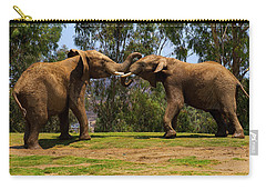 Elephant Play 3 Carry-all Pouch