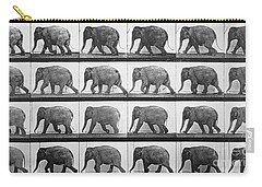 Elephant Walking Carry-all Pouch