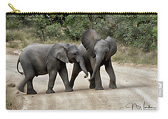 Elephants Childs Play Carry-all Pouch