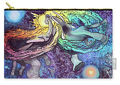 Elephants In Space Carry-all Pouch