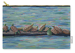 Eleven Turtles Carry-all Pouch