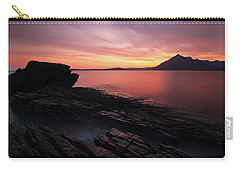 Carry-all Pouch featuring the photograph Elgol Sunset - Isle Of Skye by Grant Glendinning