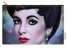 Carry-all Pouch featuring the painting Elizabeth  by Andrzej Szczerski