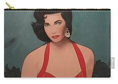 Elizabeth Taylor - Absolutely Beautiful Carry-all Pouch
