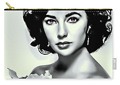 Elizabeth Taylor Carry-all Pouch by Movie Poster Prints