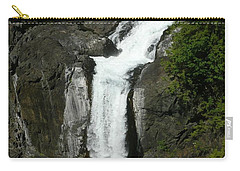 Carry-all Pouch featuring the painting Elk Falls  by 'REA' Gallery