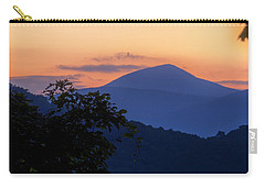 Carry-all Pouch featuring the photograph Elk Knob II by Tom Singleton