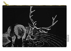Elk Carry-all Pouch by Lawrence Tripoli