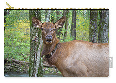 Elk In The Woods 2 Carry-all Pouch