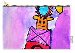 Carry-all Pouch featuring the painting Ella 2 by Greg Moores