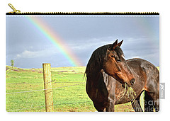 Ella And The Rainbows Carry-all Pouch