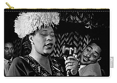 Ella Fitzgerald Dizzy Gillespie And Ray Brown William Gottlieb Photo Nyc 1947-2015 Carry-all Pouch by David Lee Guss
