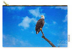 Carry-all Pouch featuring the photograph Ellliott by Geraldine DeBoer